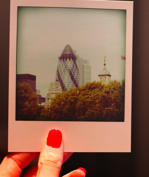 Polaroid pack pictures London by Katratzi on Etsy, $7.80