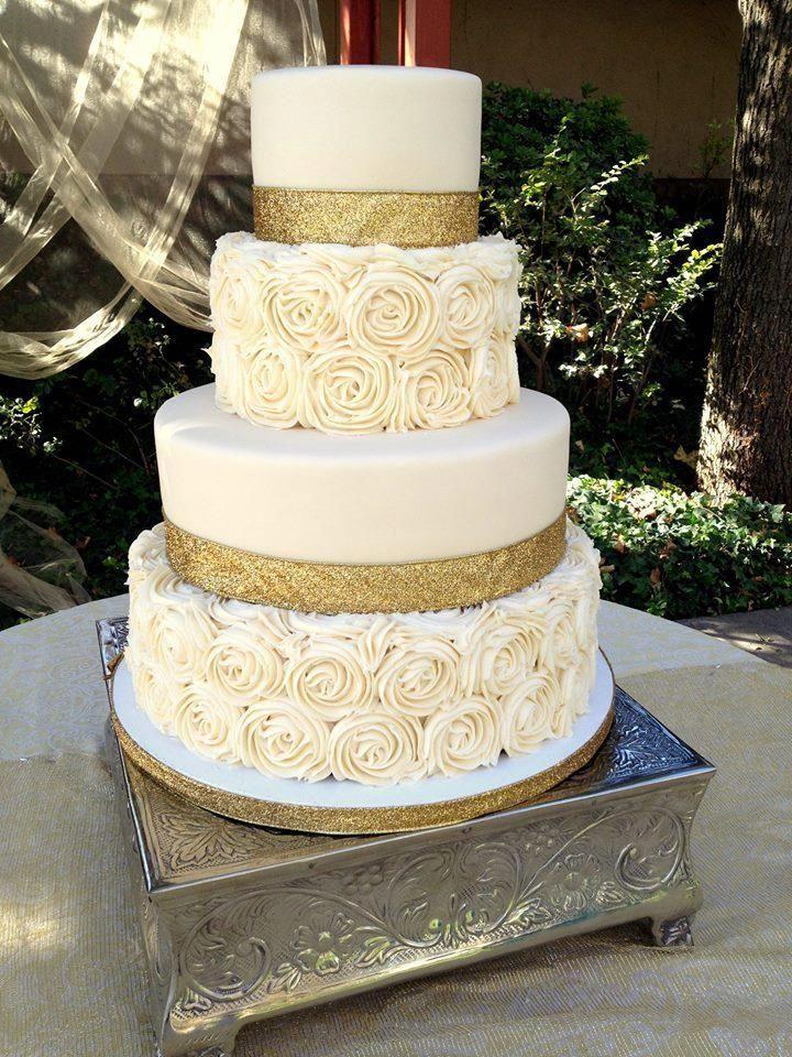 Gold High Sparkle Glitter Ribbon in 2020 50th wedding