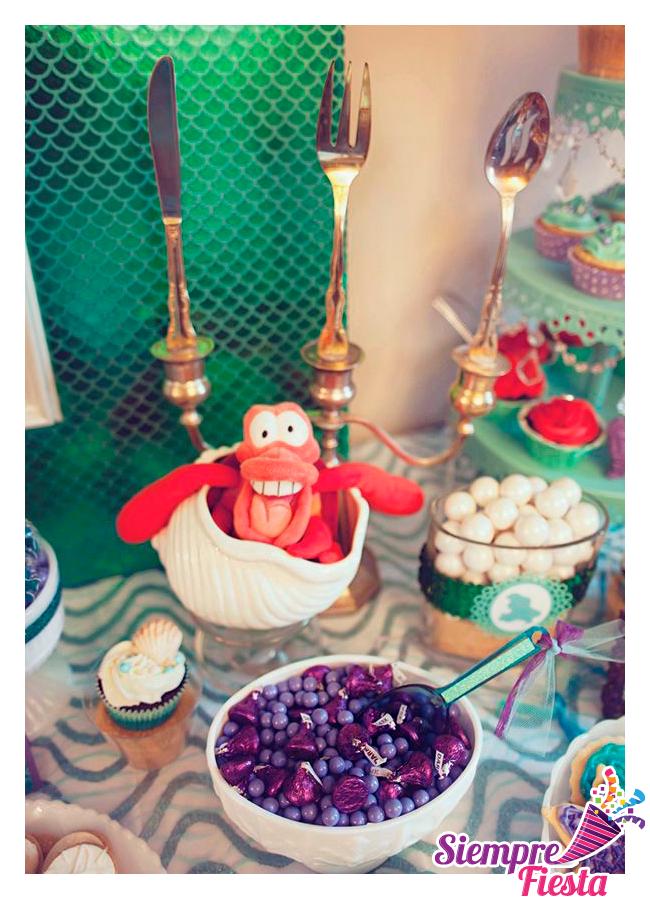 Ideas para fiesta de cumplea os de la sirenita de disney - Todo para tu fiesta infantil ...
