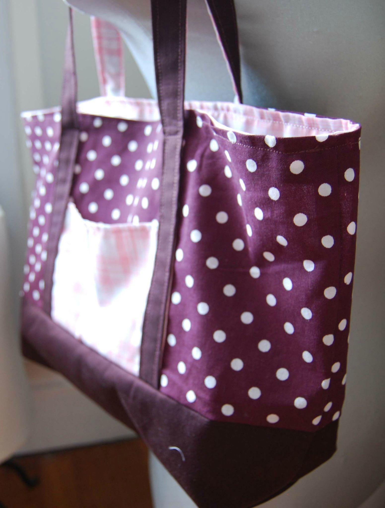 Très patron couture gratuit sac de plage 9 | couture creative  AI42