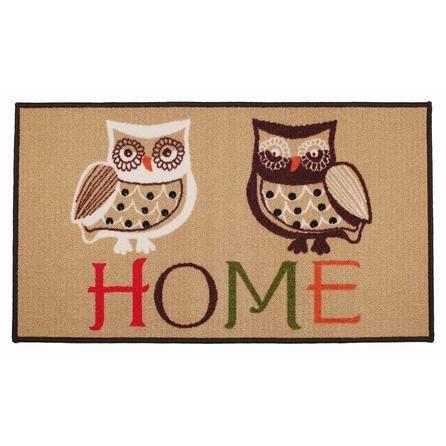 Home Owl Print Doormat Owl Home Decor Owl House Owl
