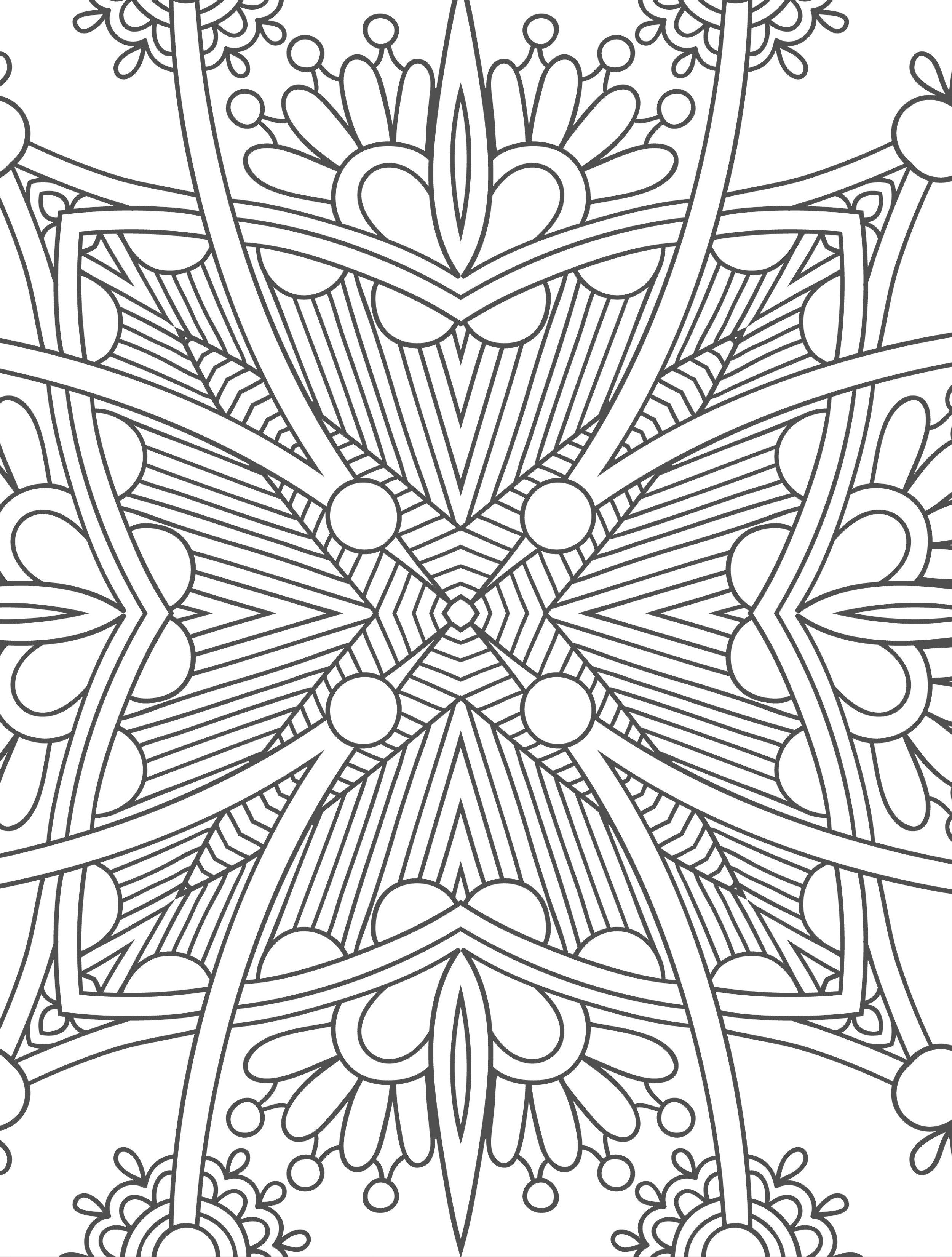 beautiful free printable adult coloring pages free to download ...