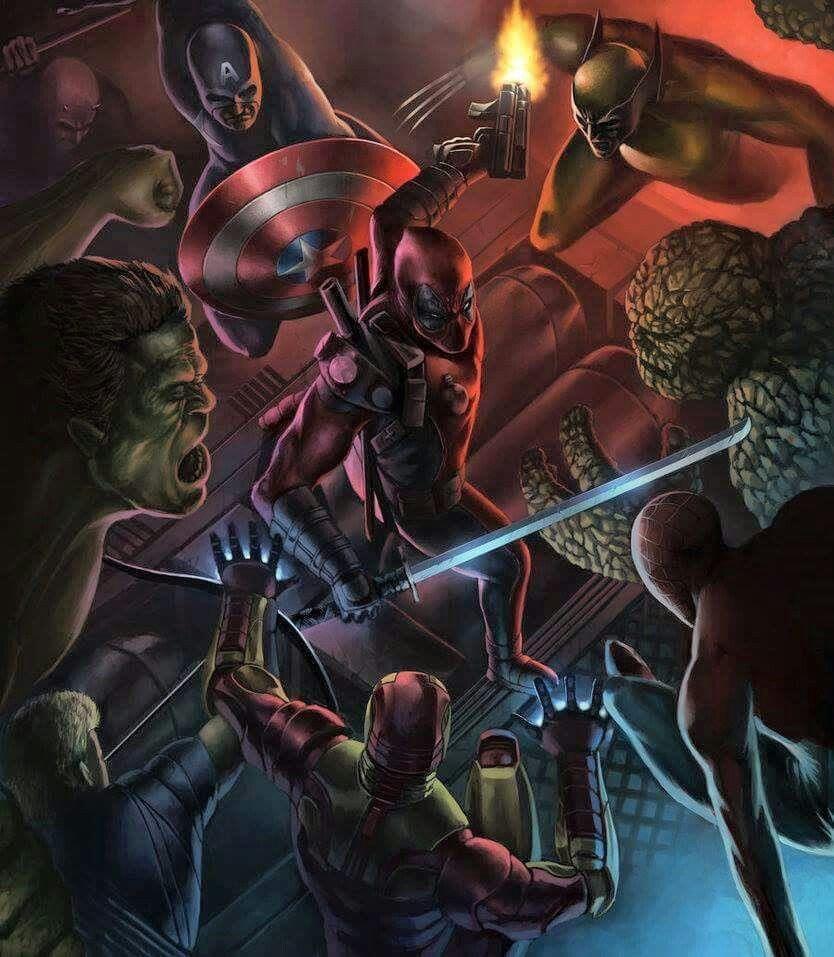 Deadpool Vs Marvel Universe 2