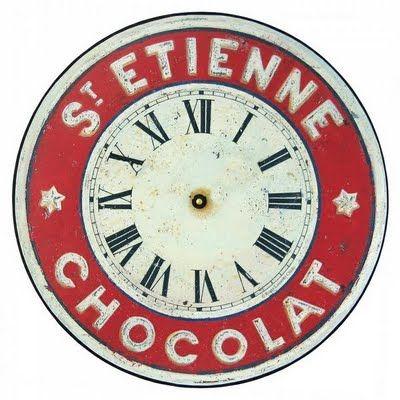 clock face Yuvarlak Pinterest Vintage Uhren, Recyceln und - wanduhren für die küche