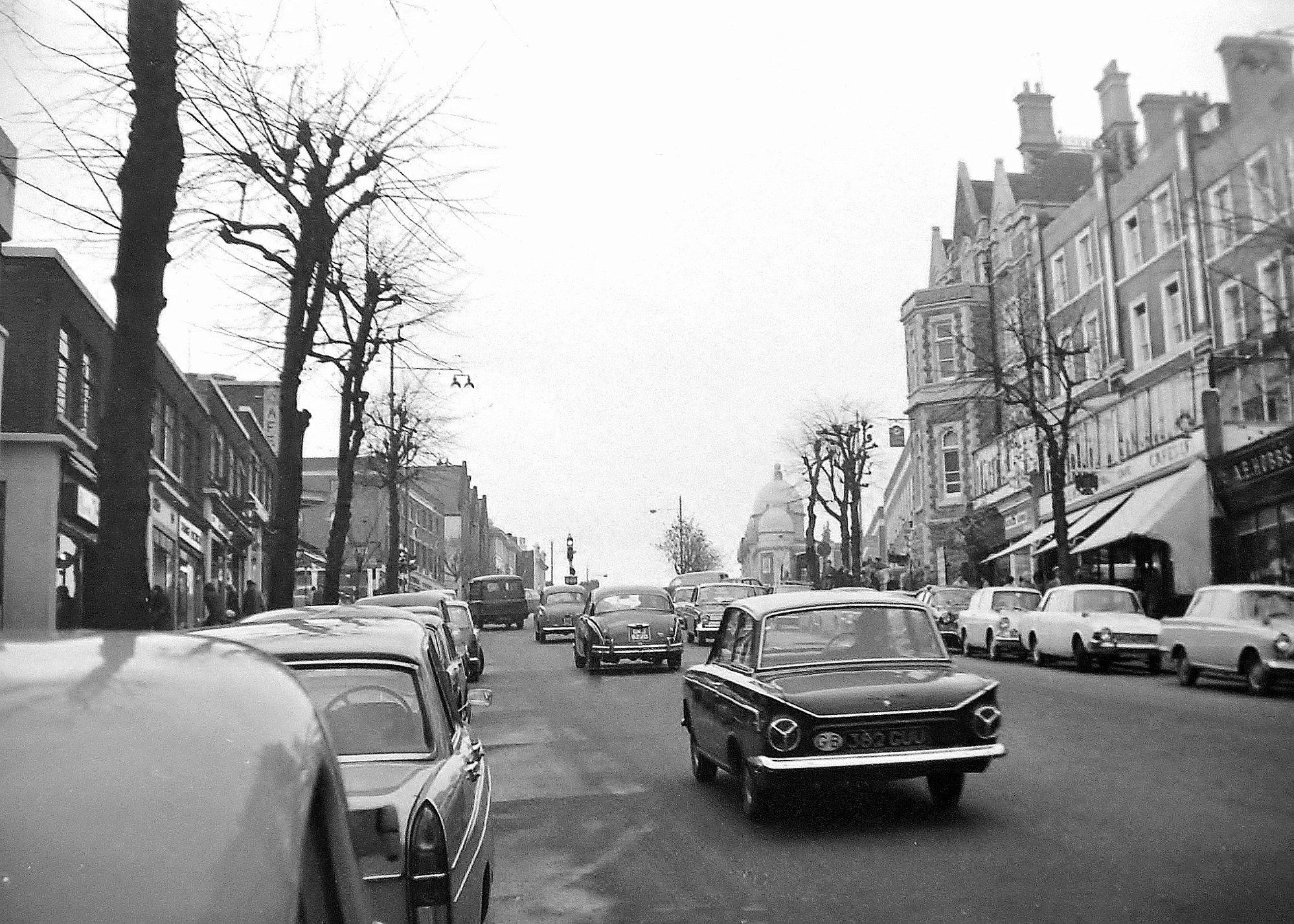 Looking up mount pleasant late 1960s photo originally