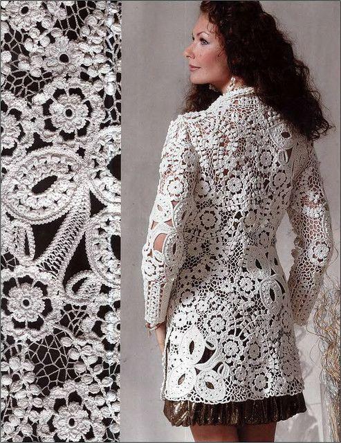White Summer Jacket from Miroslava Gorokhovich www.glamour-and-elegance.com