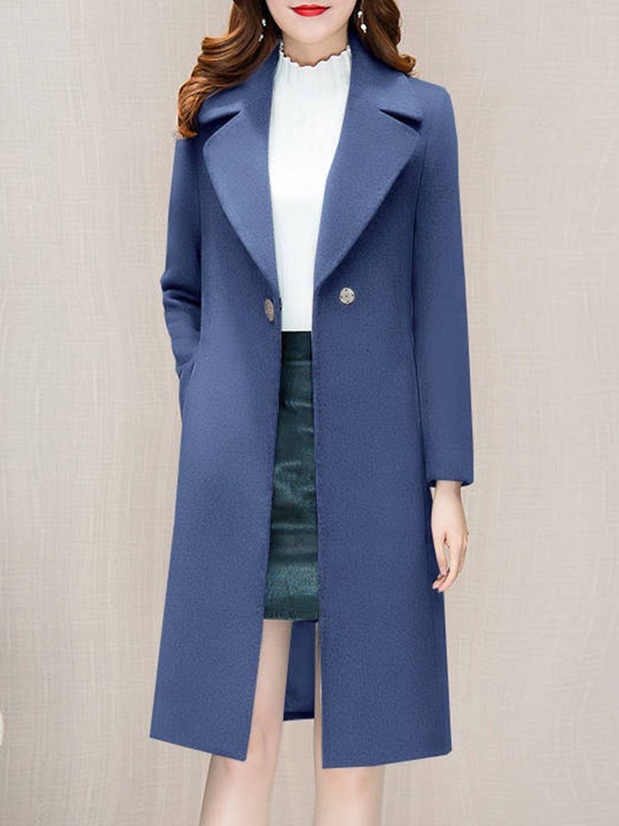 Notch Lapel Plain Coat Lapel Ad Notch Coat Plain Ad With Images Plain Coats Coat Elegant Coats