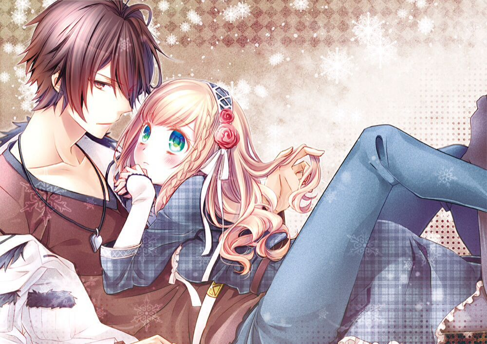 ANIME ART anime couple. . .romantic. . .love. . .sweet ...
