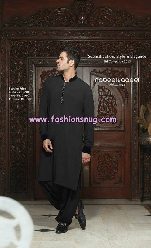 Nabeel and Aqeel Menswear Collection 2013 For Eid