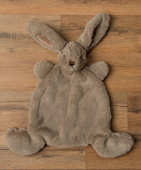 Applesauce Gray Nummy Buddy Bunny | zulily