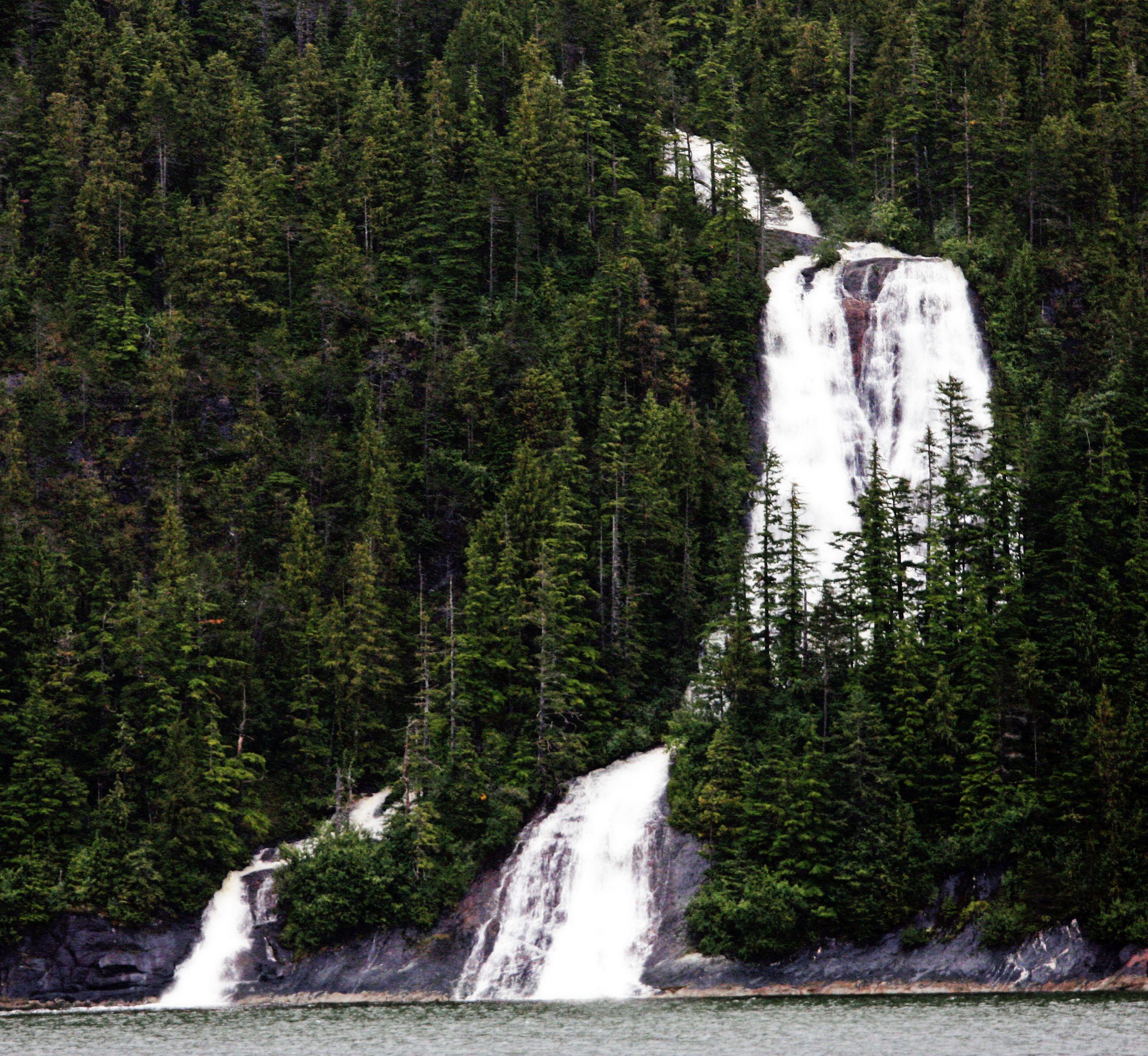 North To Alaska, Waterfall, Alaska