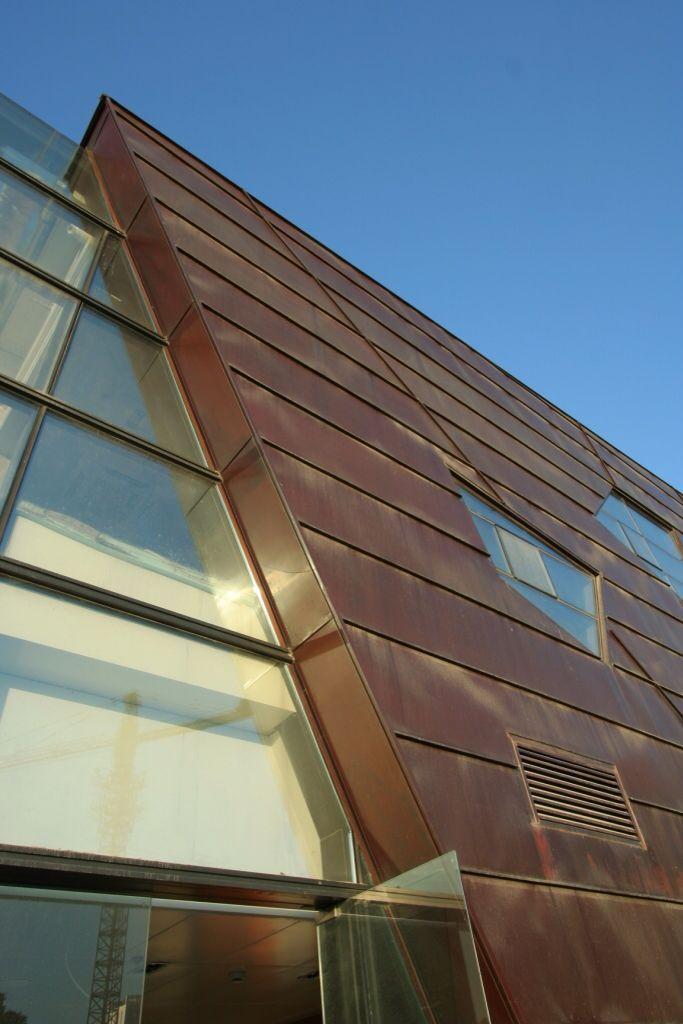 bronze exterior metal panel - Google Search | bronze panel examples ...