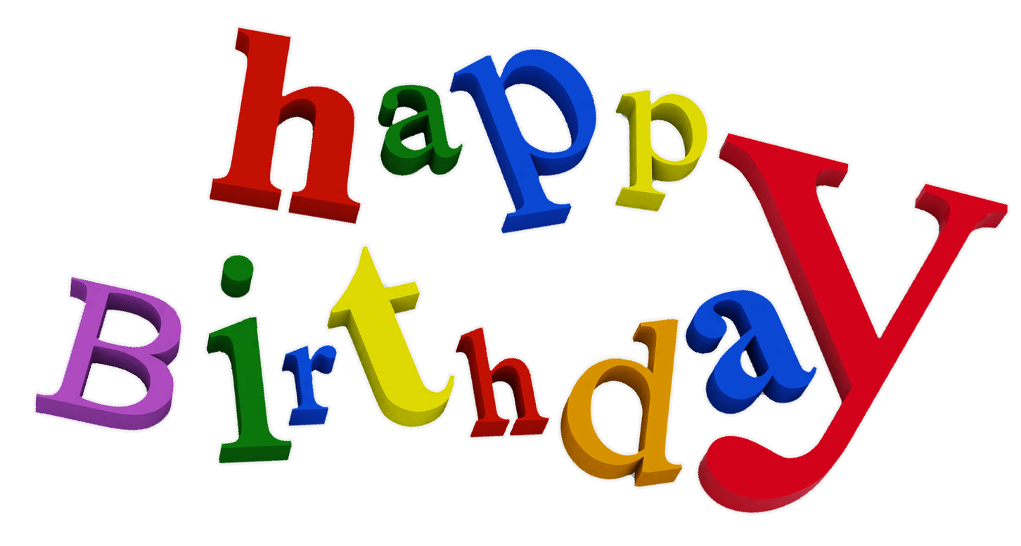 Happy Birthday Transparent PNG Clipart Happy birthday