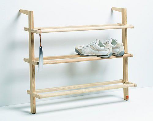 Wooden Ladder Shoe Rack Wide Shoe Racks Shelves
