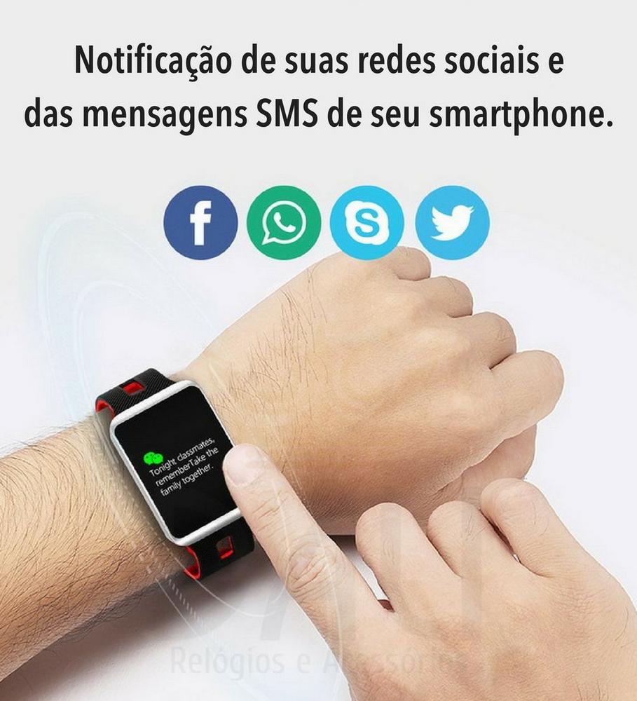 086898995bf Relógio Eletrônico OLED Pró Smartwatch - Dali Relógios