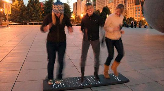 POWERleap Harnesses Energy From Foot Steps!