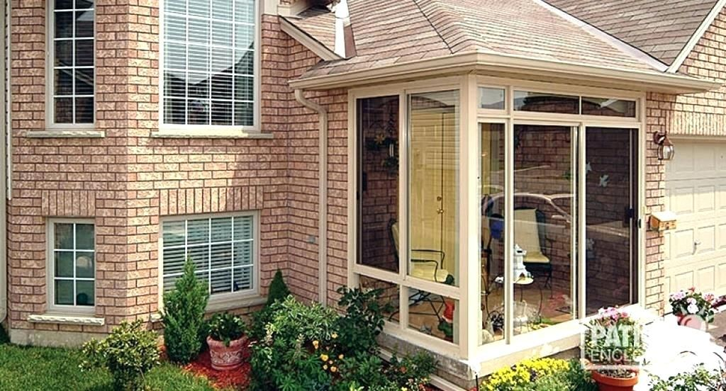 Glass Enclosed Porch Pics Glass Porch Enclosures Of Should You Add
