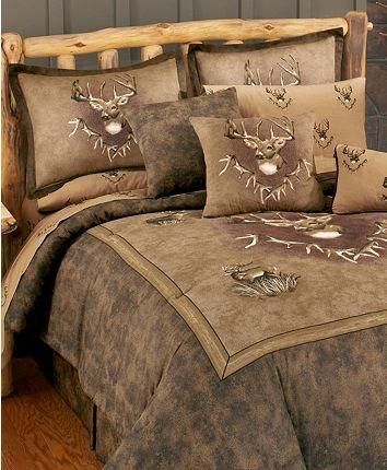 Photo of Blue Ridge Trading Whitetail Ridge King Comforter Set