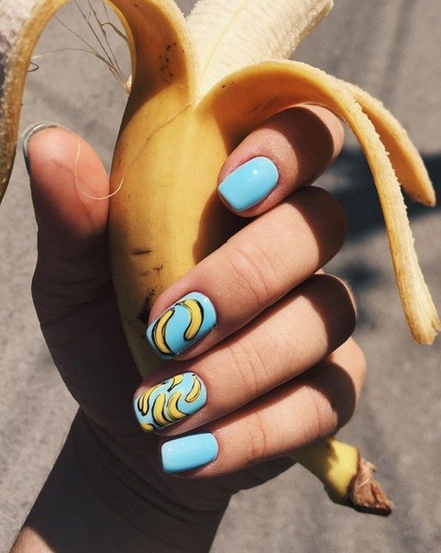 Yummy Fruit Nail Art Designs On Instagram To Drool Over | Fruit nail ...