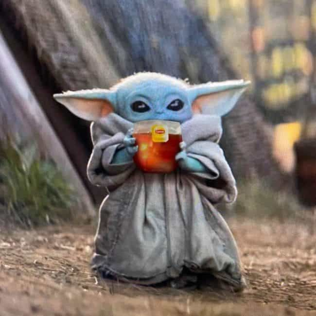Baby Yoda Memes Are Here To Stay And That S The Tea Yoda Meme Star Wars Humor Funny Babies