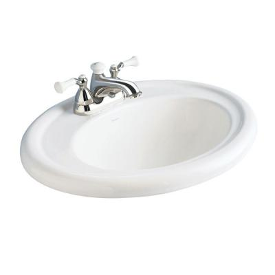 American Standard Collection Self Bathroom Sink In White 0293 004 020 At