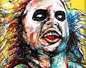 "Print 8x10"" - Charles Manson - Serial Killer Helter Skelter Halloween Gothic Death Crazy Horror Dark Art True Crime. $7.00, via Etsy."