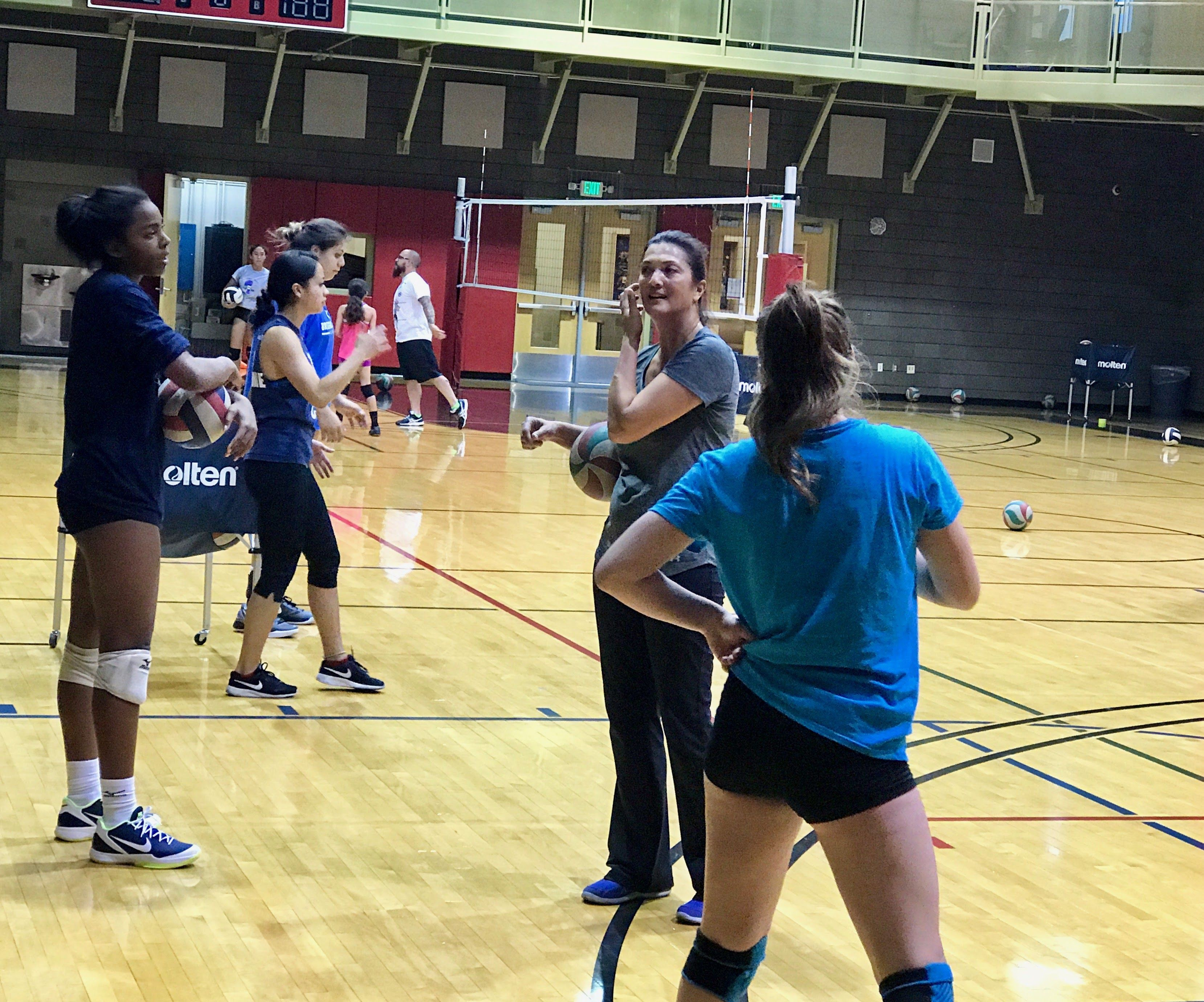 About Coach April Chapple Volleyball Training Mental Toughness Training Coaching Volleyball