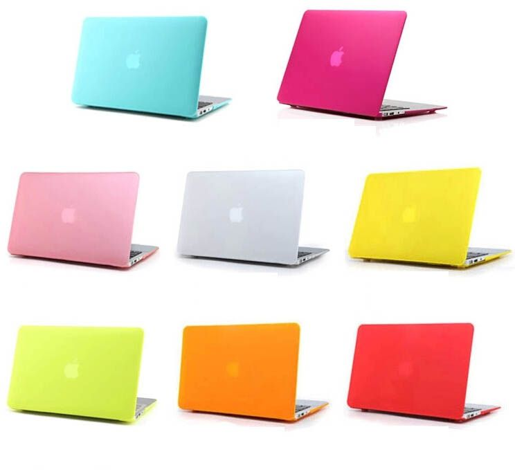 """5 in1 Crystal RED Case for Macbook PRO 15/"""" Retina Bag Mouse Key Cover+ LCD"""