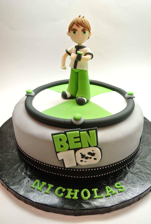 Ben 10 Cake By A Beautiful Kitchen Deco Fiestas Torta
