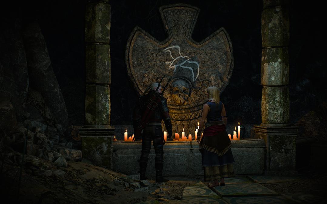 Lara Dorren's tomb