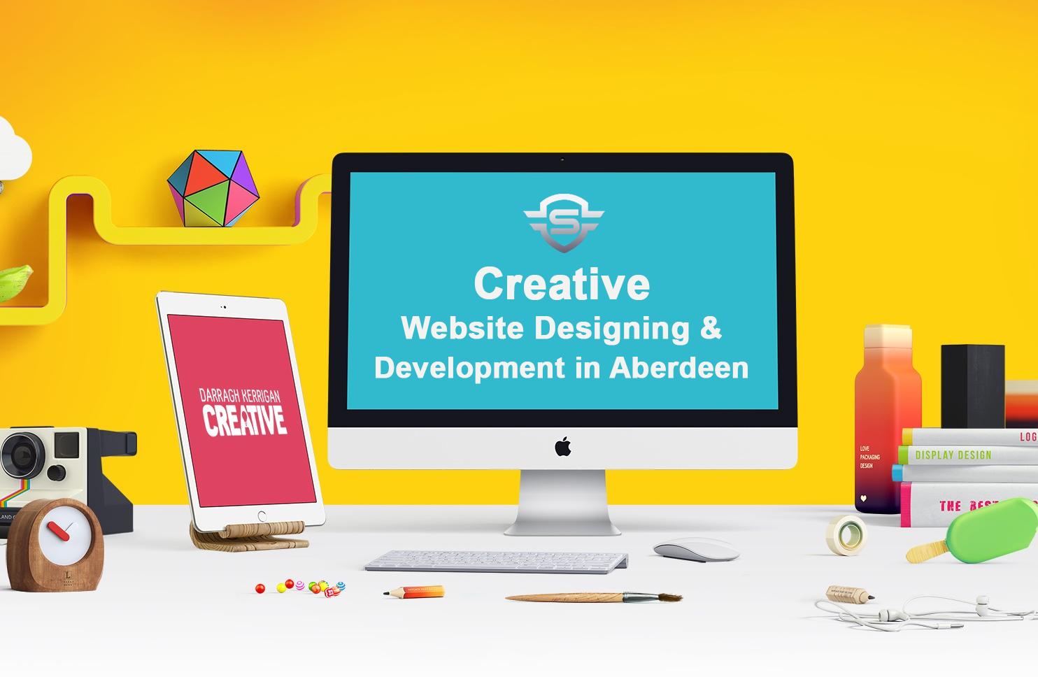 Creative Website Designing Development In Aberdeen Custom Website Design Website Design Website Design Company