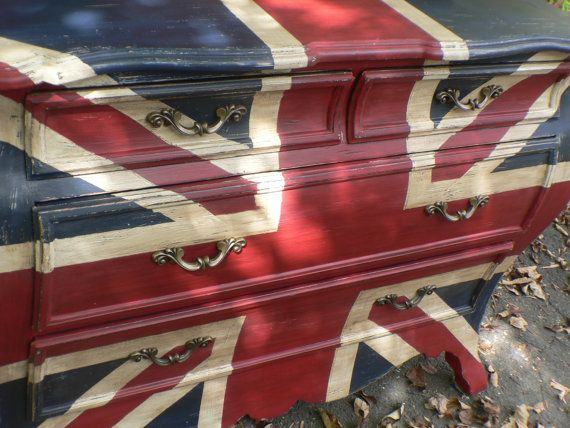 Super+CHiC+hand+painted+UNION+JACK+English+by+Cedarappledesigns,+$650.00