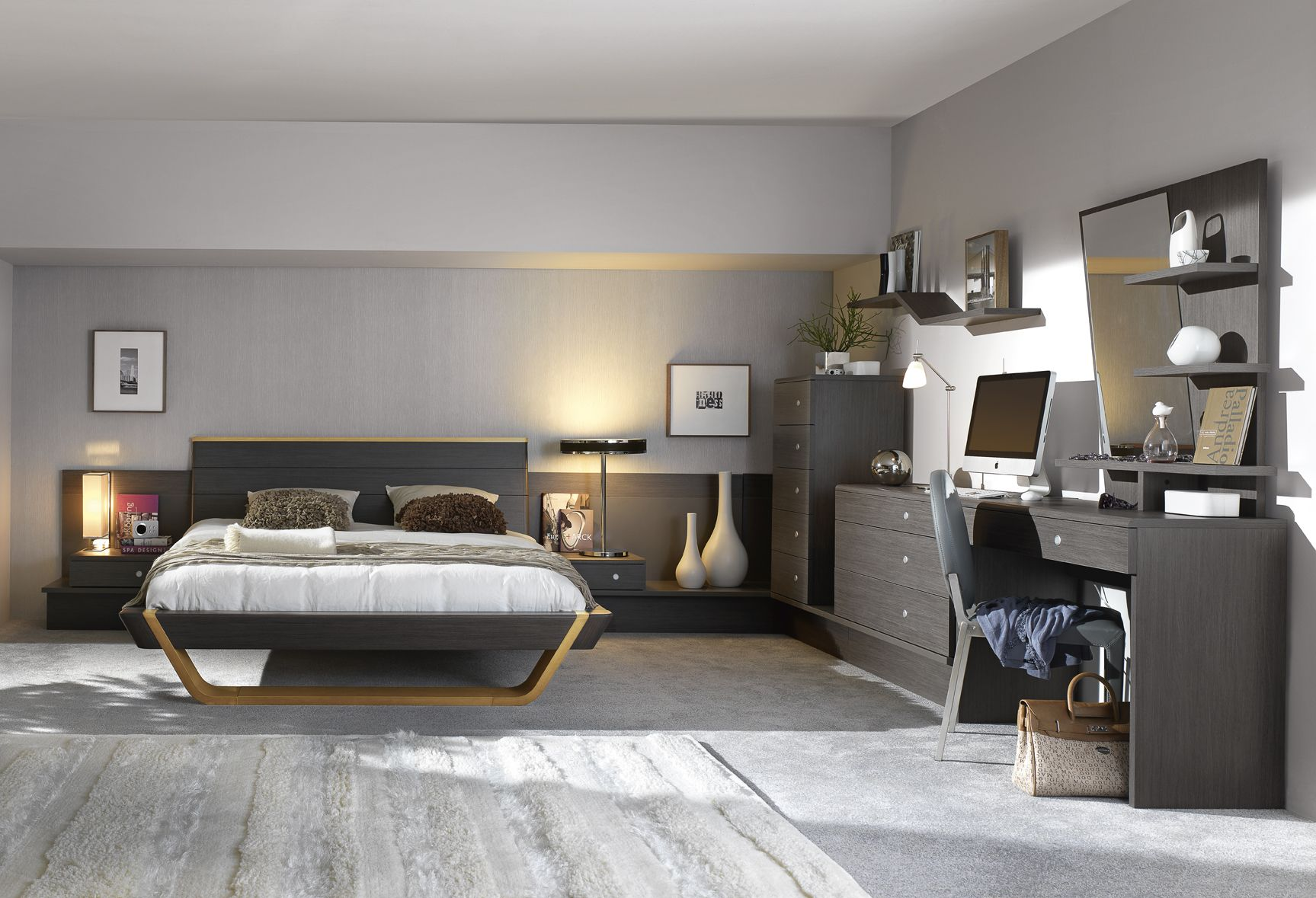 Shannon Collection.Gautier.ca Modern bedroom furniture