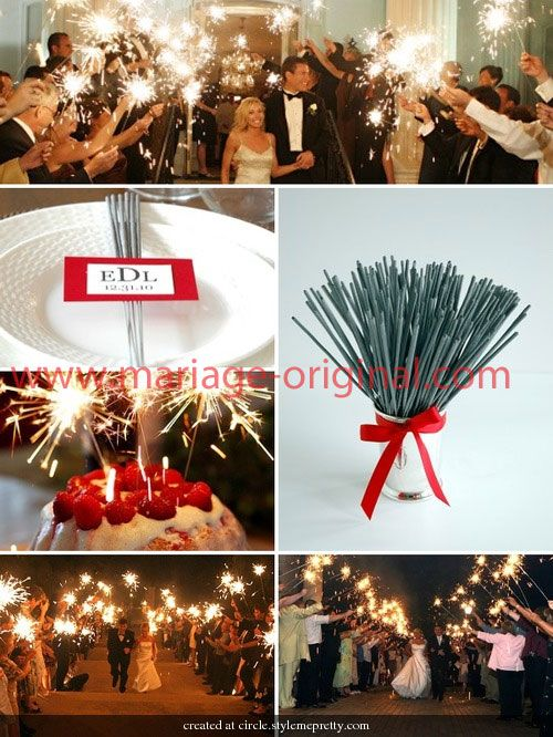 1000 images about cierges magiques on pinterest going away wedding ideas and article html - Cierge Magique Mariage
