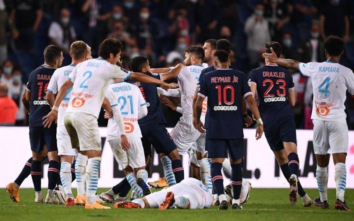 إيقاف نيمار وتحقيق مع دي ماريا بعد أحداث مارسبليا Neymar Jr Neymar Football