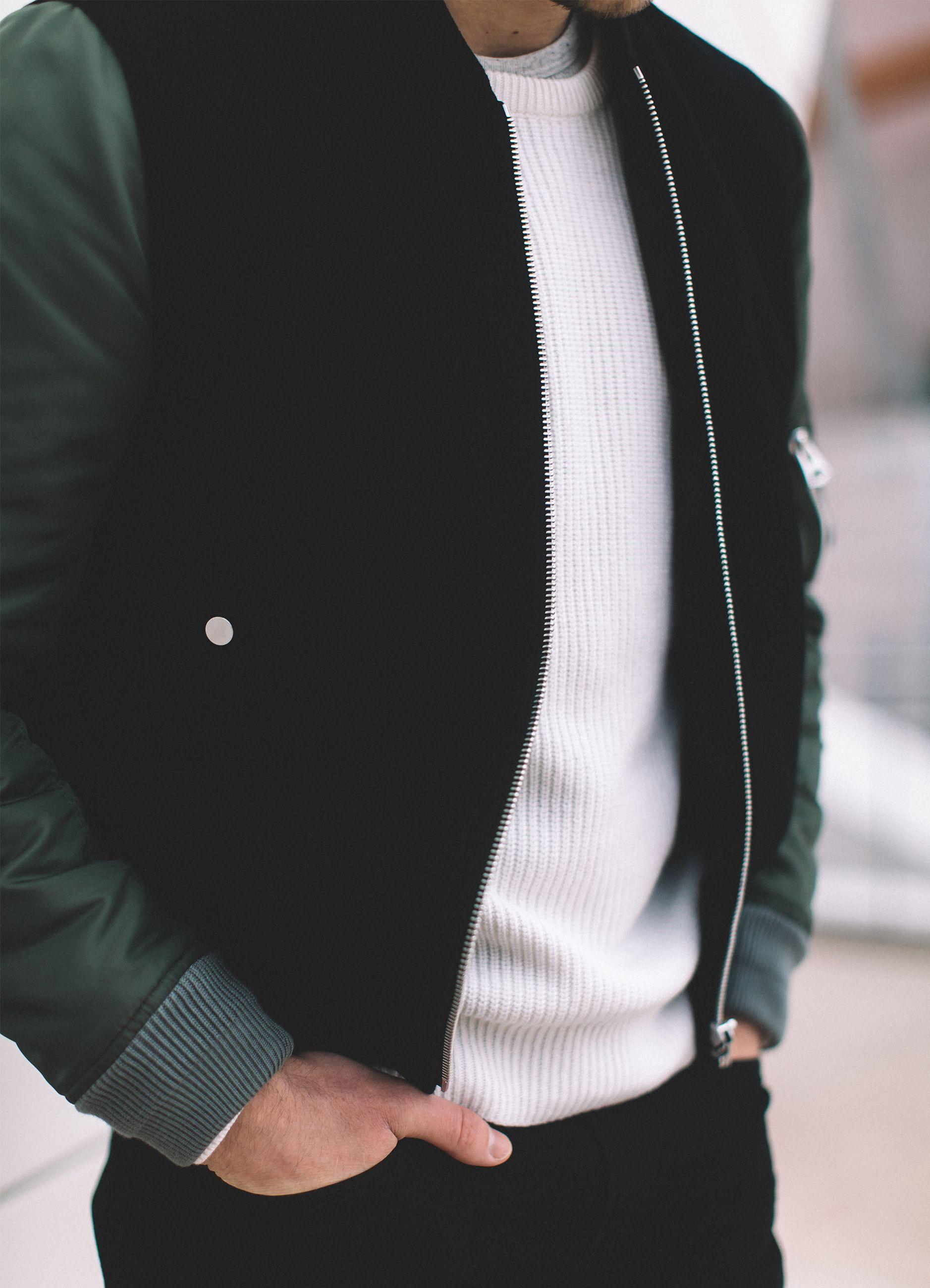 A Fresh Start Bright Bazaar By Will Taylor Jackets Men Fashion Mens Leather Bomber Jacket Bomber Jacket Men [ 2600 x 1877 Pixel ]