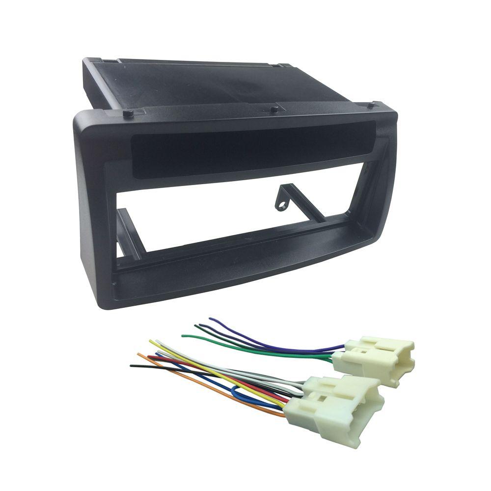 5c58fcb2dd9f4b33ecc5c929d9e8f7e5 din fascia for toyota corolla w pocket wiring harness headunit