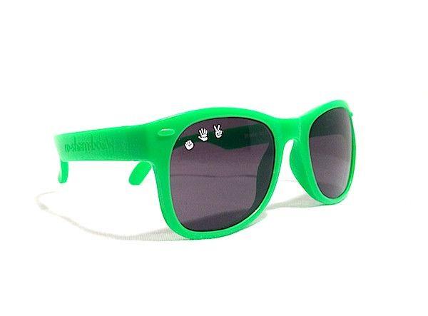 2c549f18f08 slimer (bright green) baby shades - ro•sham•bo baby - sunglasses