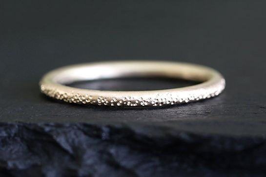 The Coolest Wedding Bands From Etsy