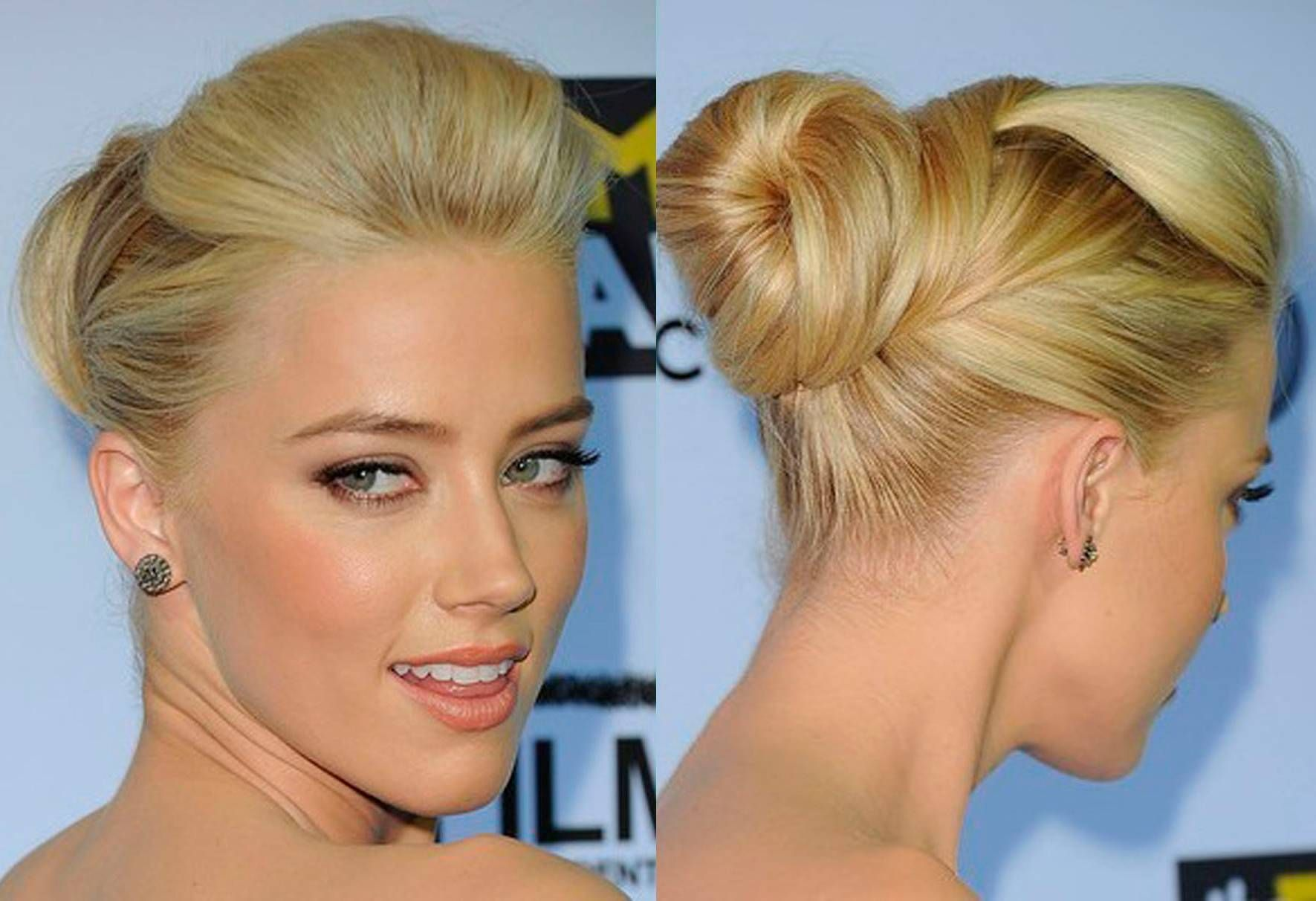 Bun Hairstyles To Do at Home Hairstyles Pinterest