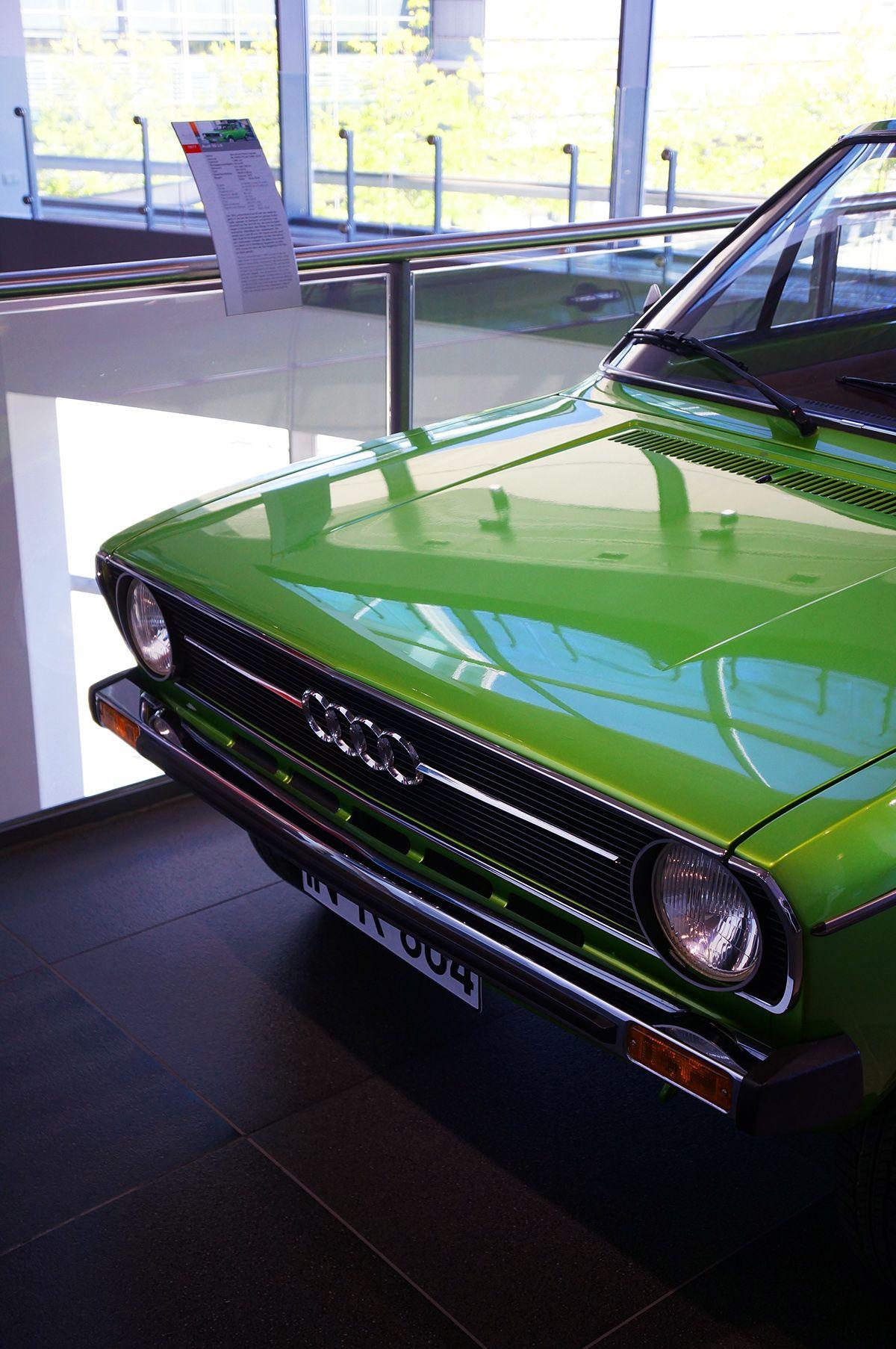 1974 Audi 50 Production Cars