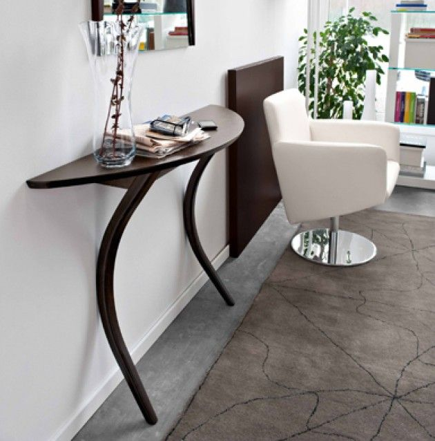Modi console table calligaris soft curves define the modi 2 leg modi console table calligaris soft curves define the modi 2 leg design attaches to the wall available at pomp home in culver city ca pomphome watchthetrailerfo