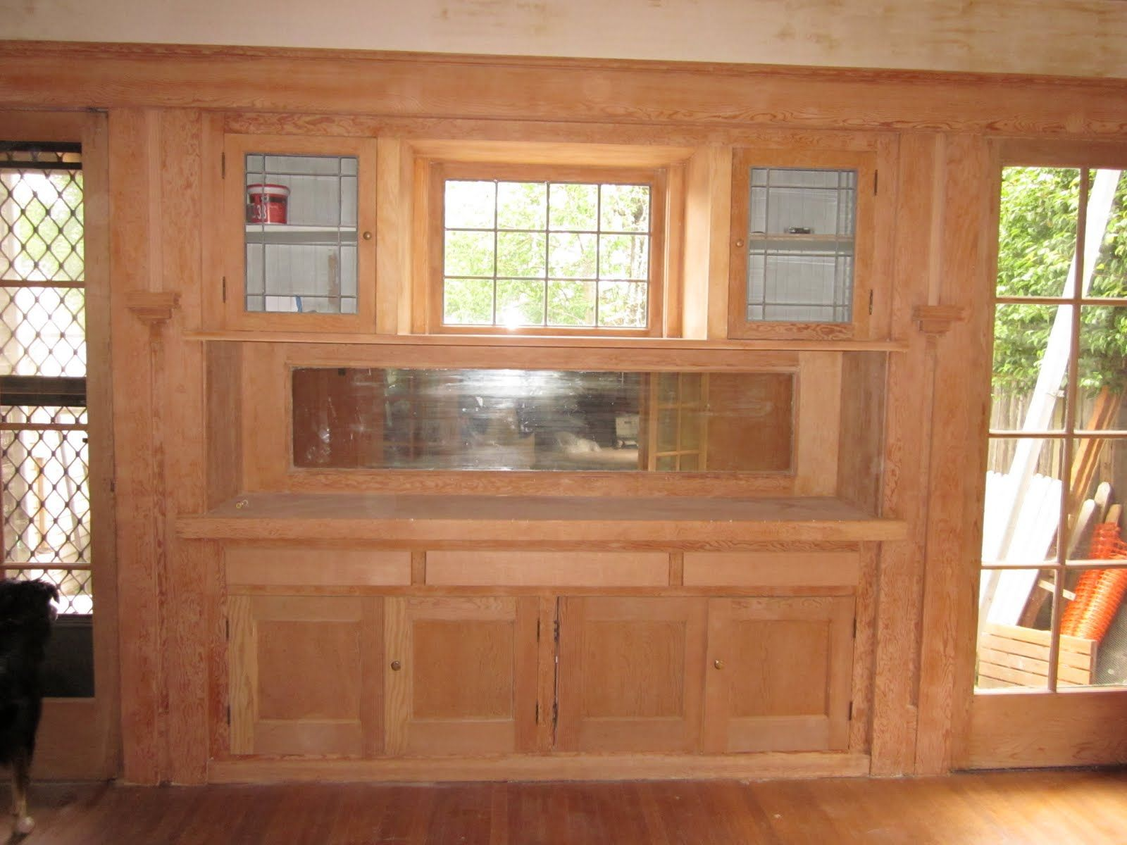 Show Me Your Dining Room Built Ins Built In Dining Room Cabinets