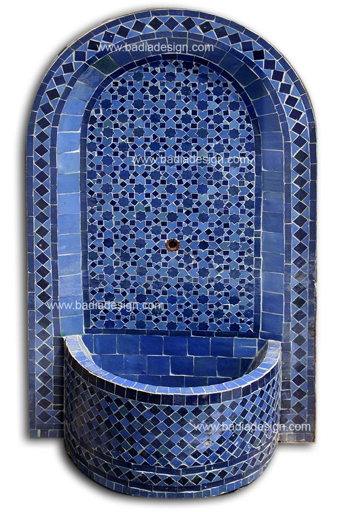 Moroccan Arched Fountain Mf002 S Indoor Wall Fountains