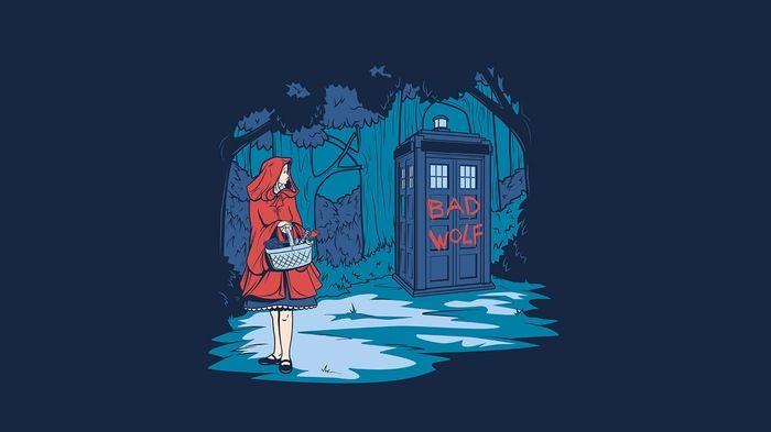 Злой волк не такой уж и злой Доктор Кто, Красная шапочка ...