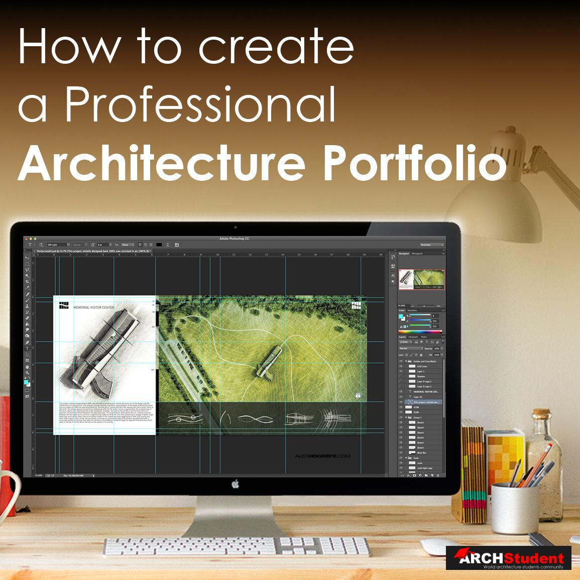 how to create an architecture portfolio