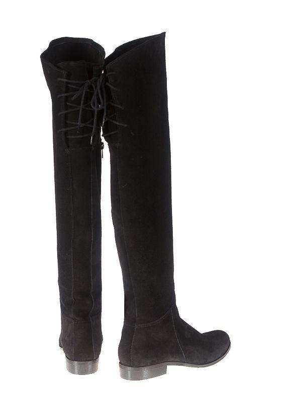 Muszkieterki Skora Czarny Zamsz Lafemme K400 35 41 5704980359 Oficjalne Archiwum Allegro Knee Boots Over Knee Boot Fashion