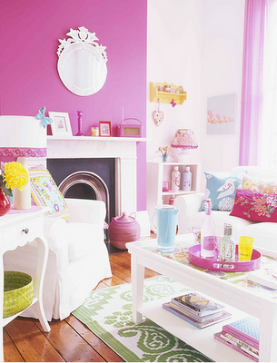 Pink lounge | Pretty in Pink! | Pinterest | Lounge ideas, Living ...