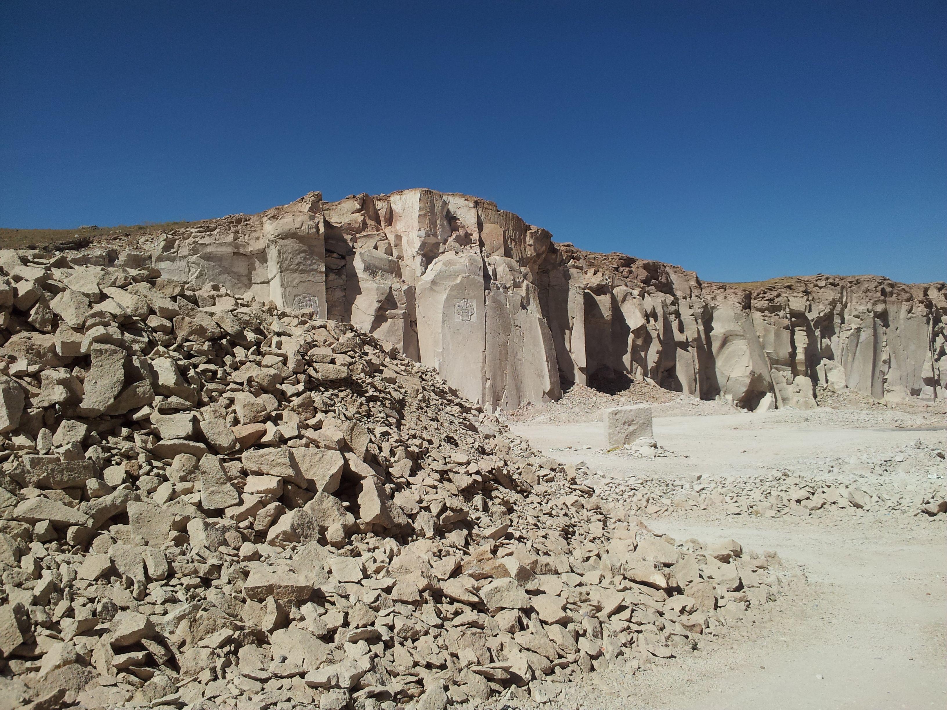 Viaggi travel peru arequipa canteras sillar piedra for Piedra volcanica
