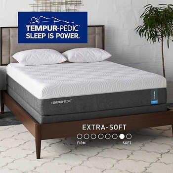 Tempur Pedic Premium Soft 12 Cal King With Foundation Mattress